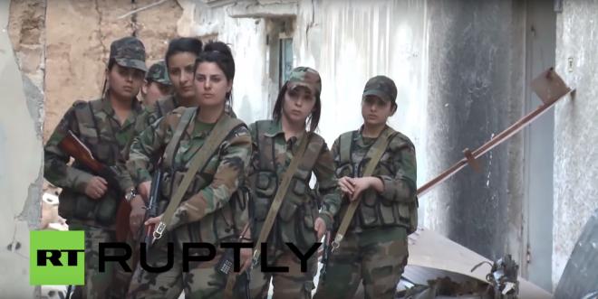 syrianArmyWomen