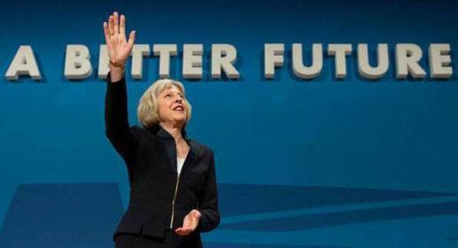 Image result for Theresa May conservatives satire UK